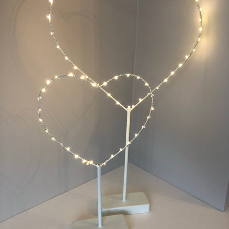 Large standing LED heart
