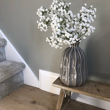 White gypsophila spray 66cm