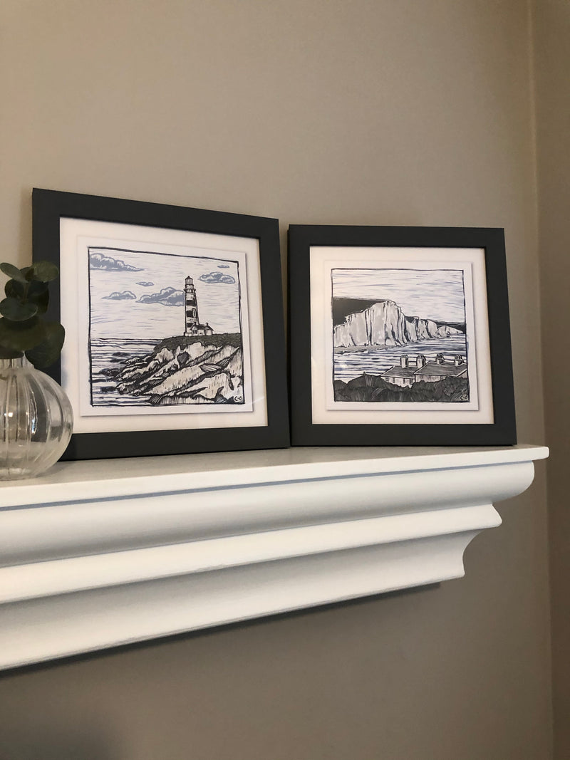 Pair of nautical prints by Charlotte Oakley 1