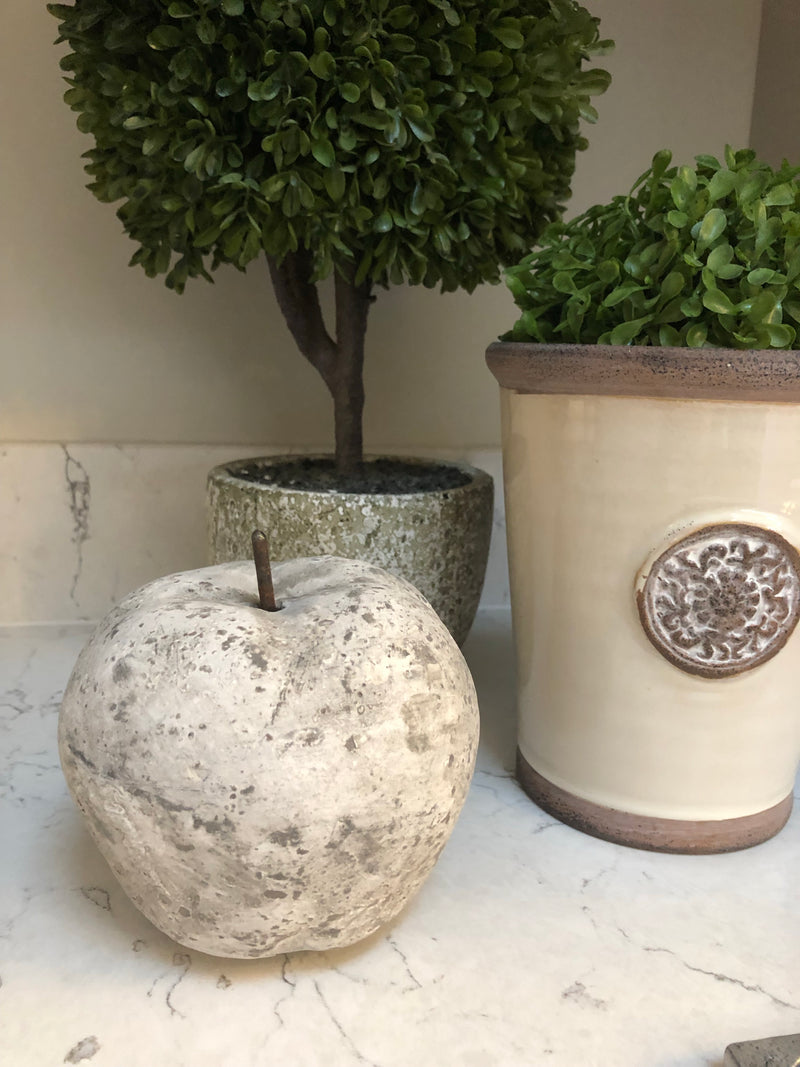 Stone decorative apple