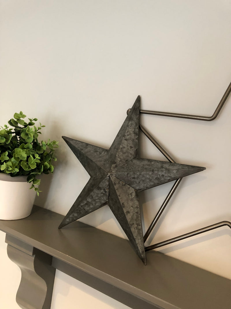 Medium Rustic Metal Star