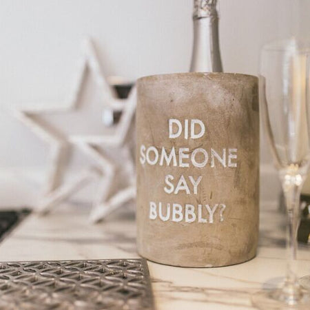 Stone Wine & Champagne Cooler 'Did someone say Bubbly'