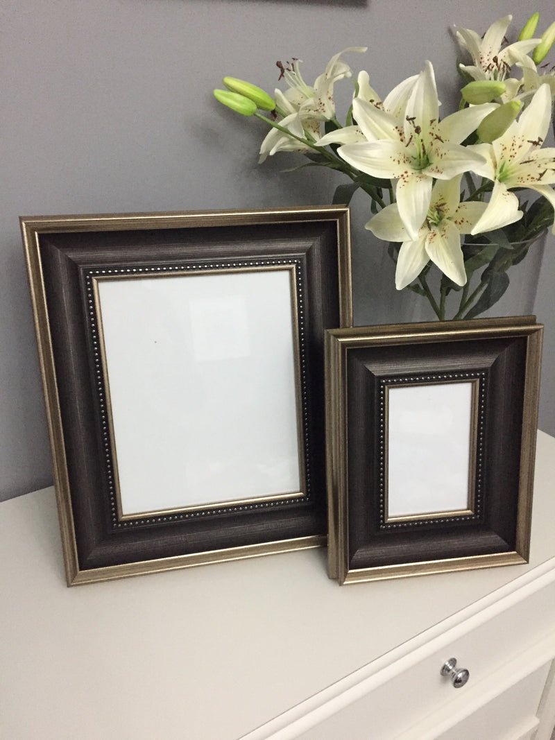Black and gold chunky frame 5x7