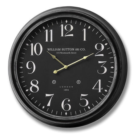 William Sutton black clock
