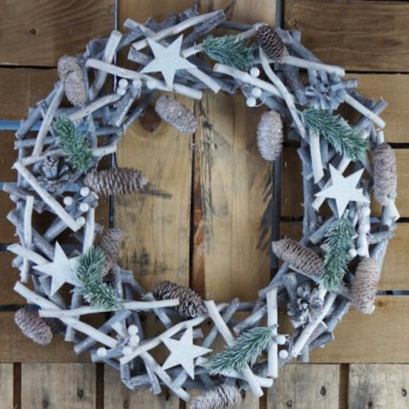 Woodland wreath 50cm
