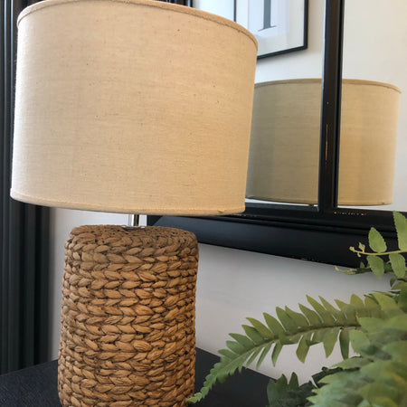 Rope Effect Table Lamp