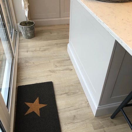 Regular Star coir doormat