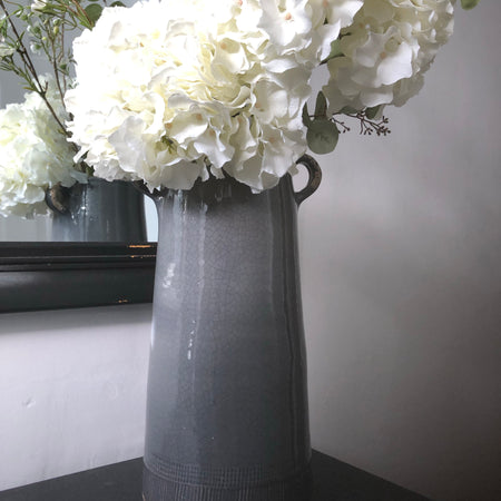 Parlane Catina Grey medium Two handled vase
