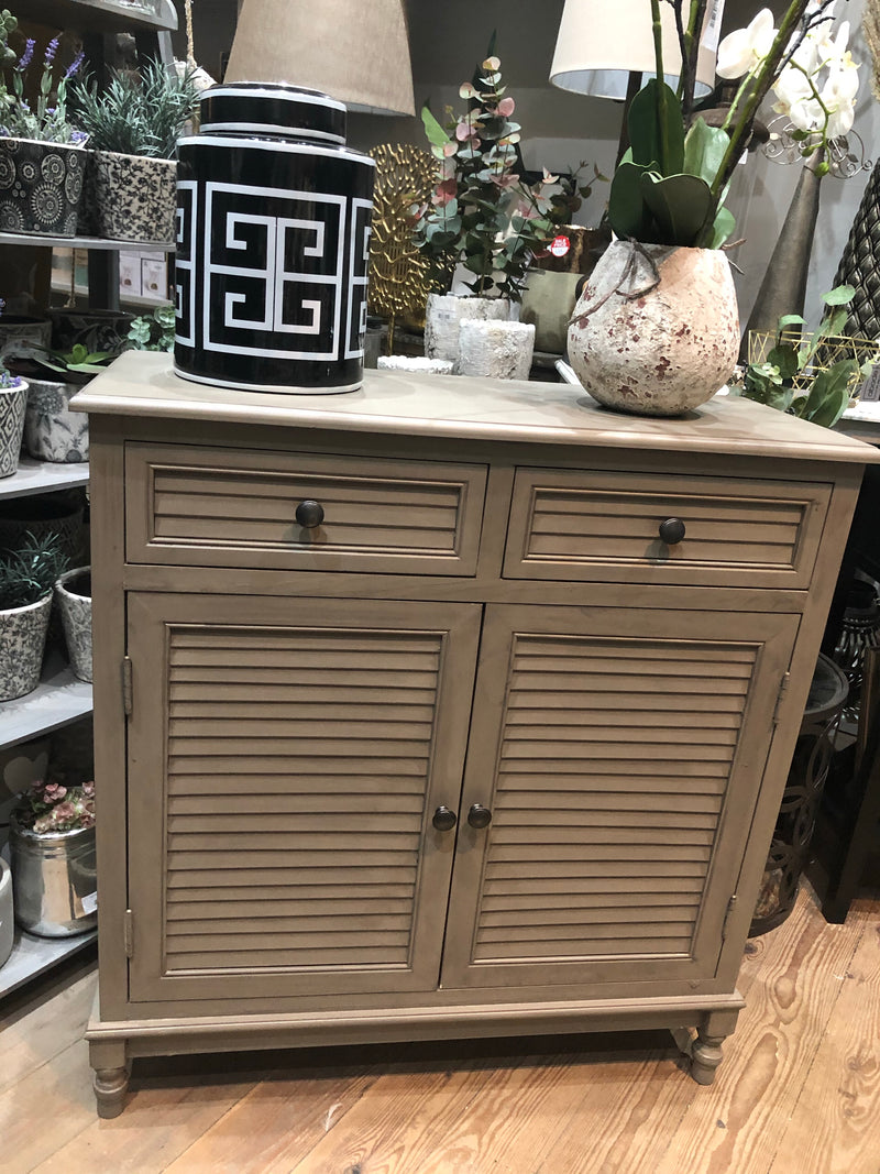 Store seconds taupe sideboard with drawers