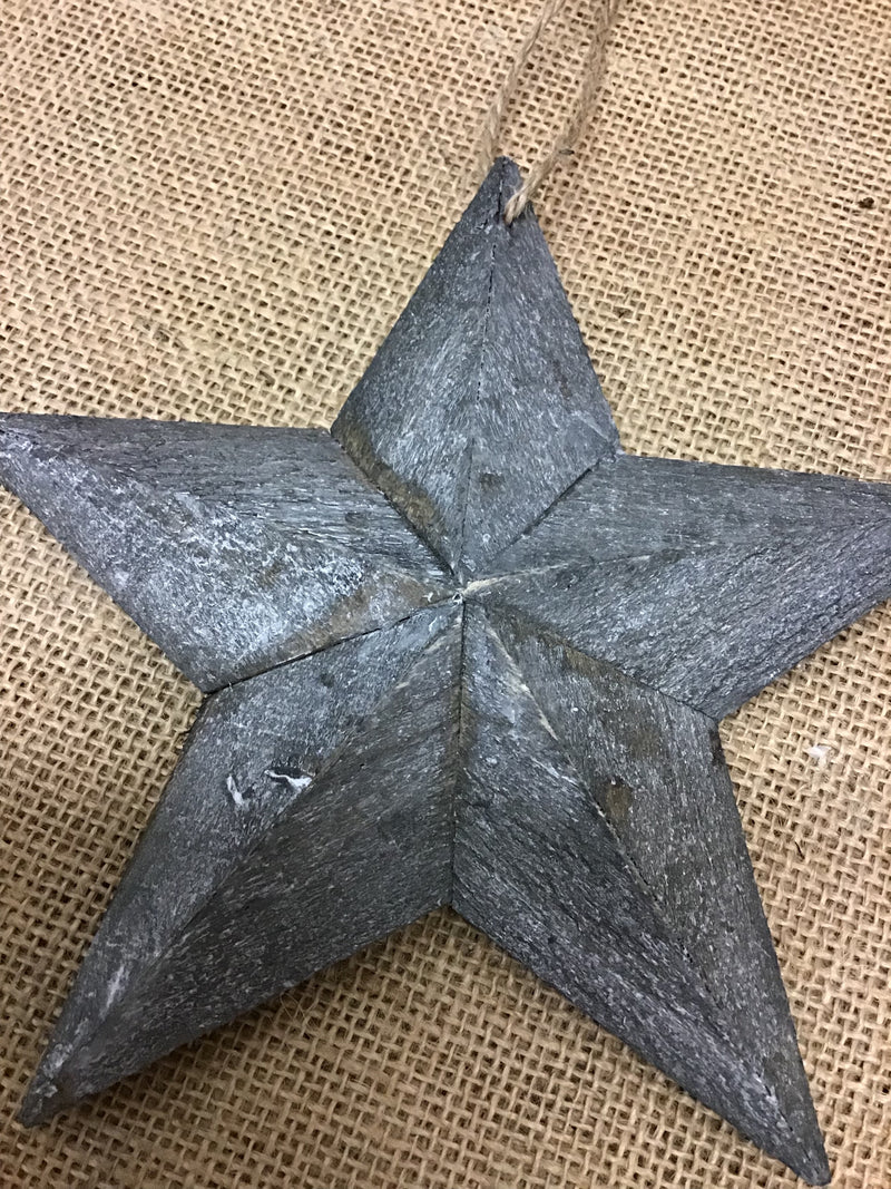 Small greywash barn star