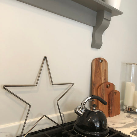 Medium Farringdon metal outline Star 47cm