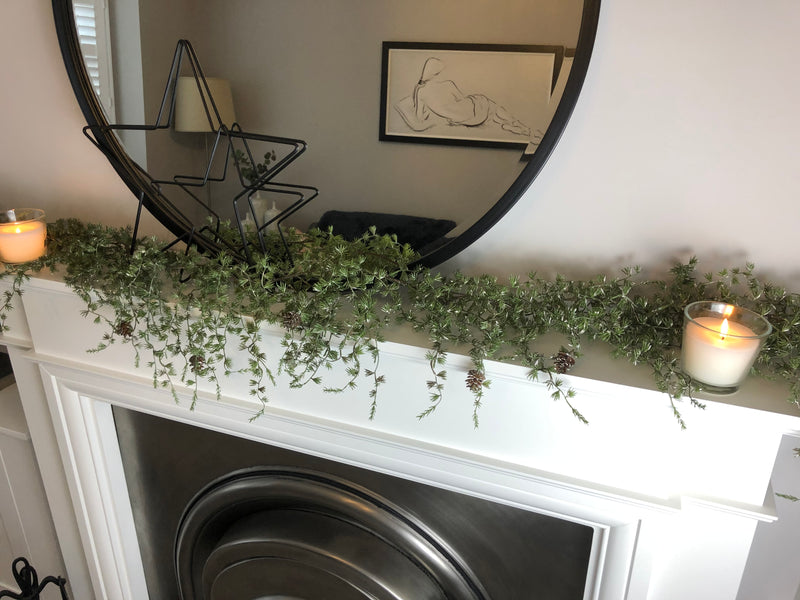 Pine and fur full garland 170cm