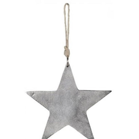 Medium metal star hanger