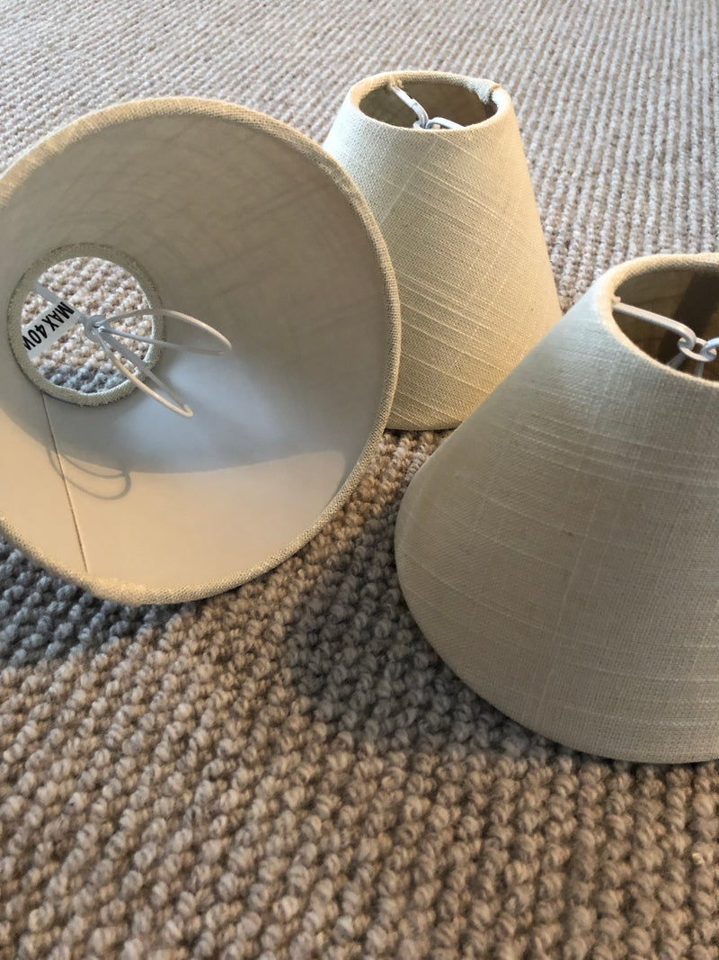 Set of 3 candle shades