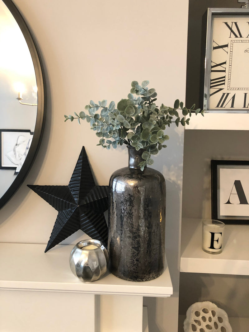 Medium Dark grey terrain vase