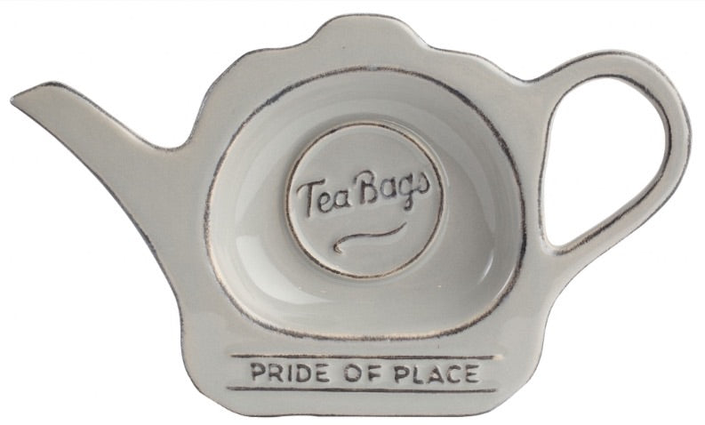 Grey Ceramic Tea Bag Tidy