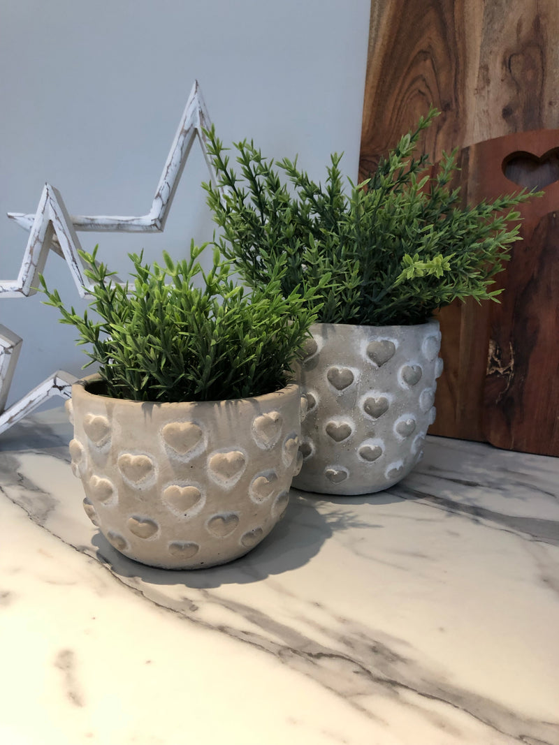 Parlane Small Heart planter