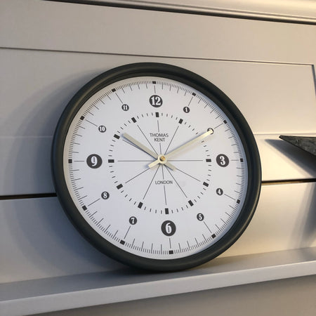 Dark grey Thomas Kent clock
