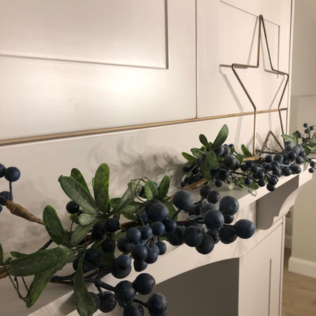 Wild Blueberry Garland