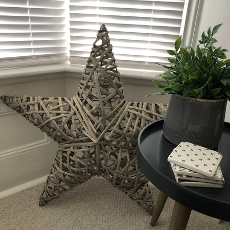 3D Large Woven Star