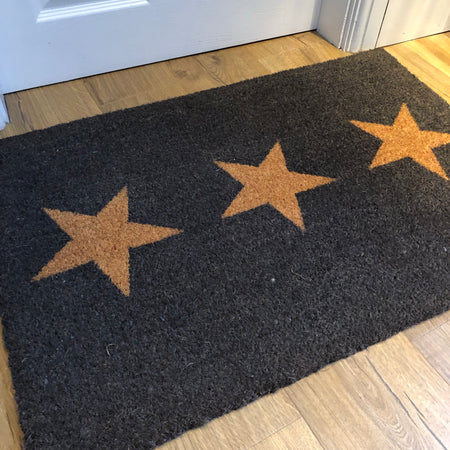 Regular 3 star doormat rug coir