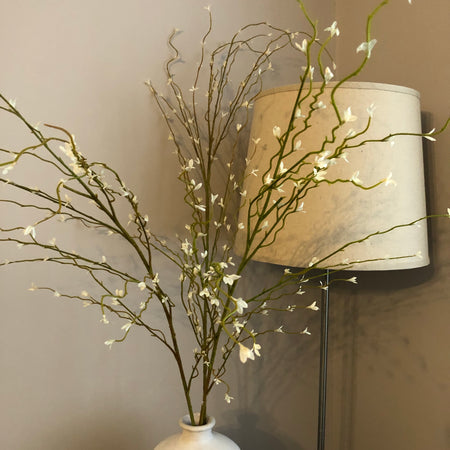 White willow stem spray