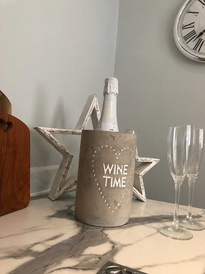 Wine time wine cooler by Parlane