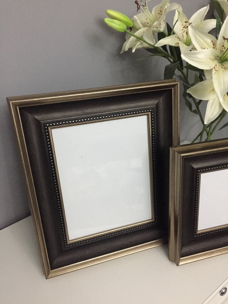 Gold bamboo simple frame 4x6