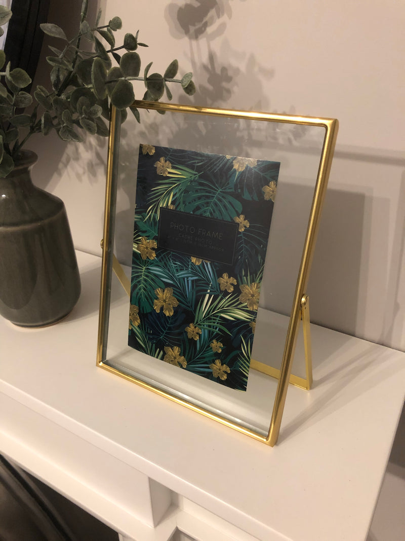 Simple gold frame 4x6
