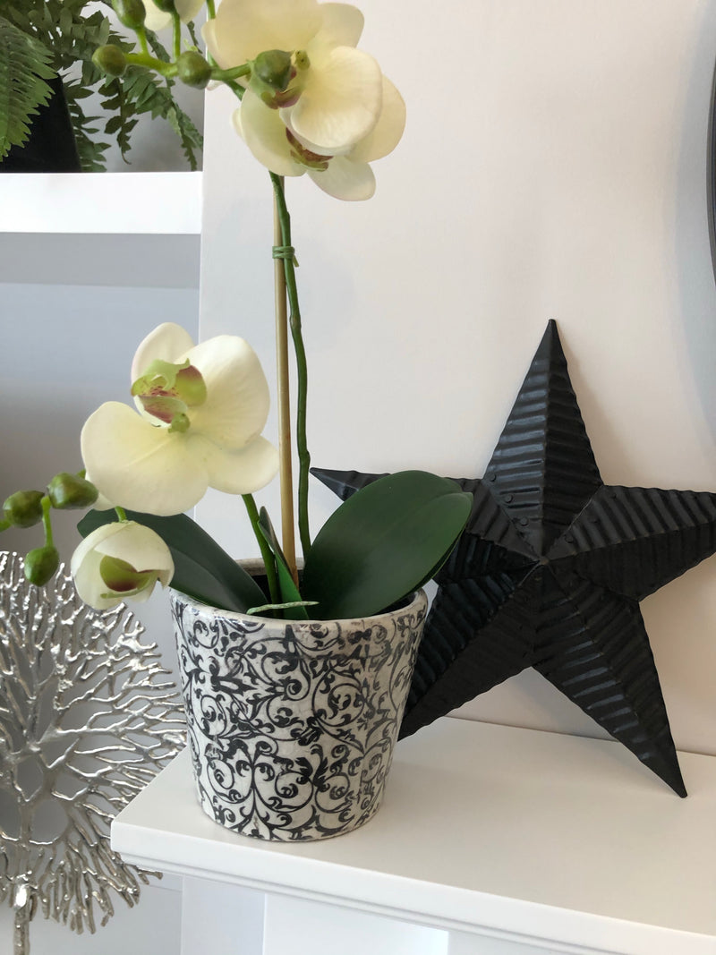 Dutch pot Design 3 black/grey