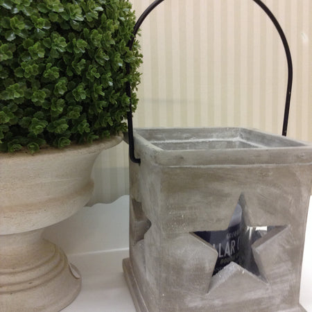 Medium Grey Star Lantern