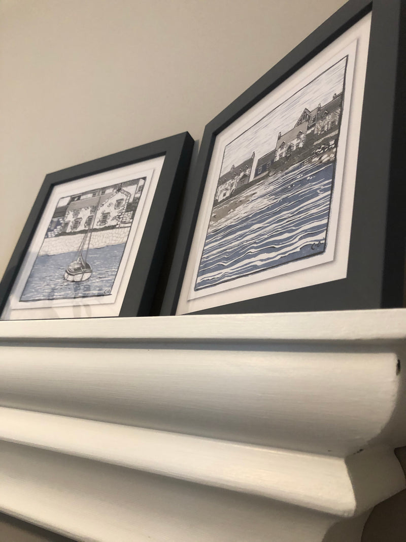 Pair of nautical prints by Charlotte Oakley 2