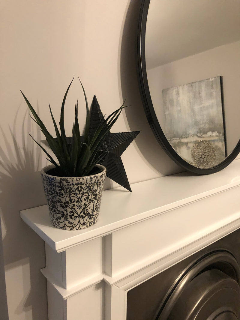 Faux Agave stem bunch