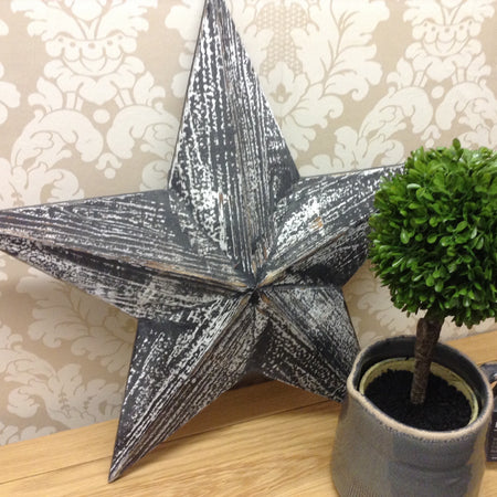 Black Barn Star Decoration