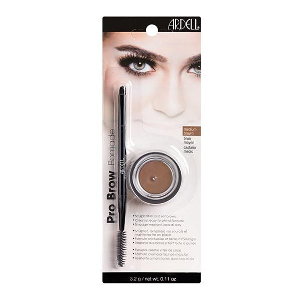 Ardell Pro Brow Pomade Medium Brown - Glammua