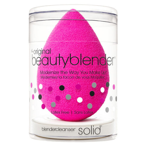 Beautyblender Classic Single & Solid Cleanser Kit - Glammua
