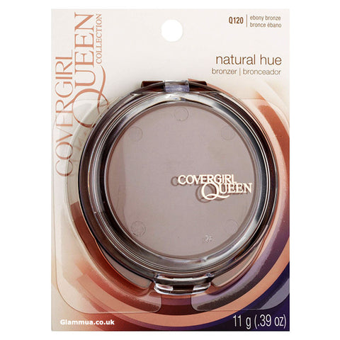 CoverGirl Queen Collection Natural Hue Mineral Bronzer Ebony Bronze - Glammua