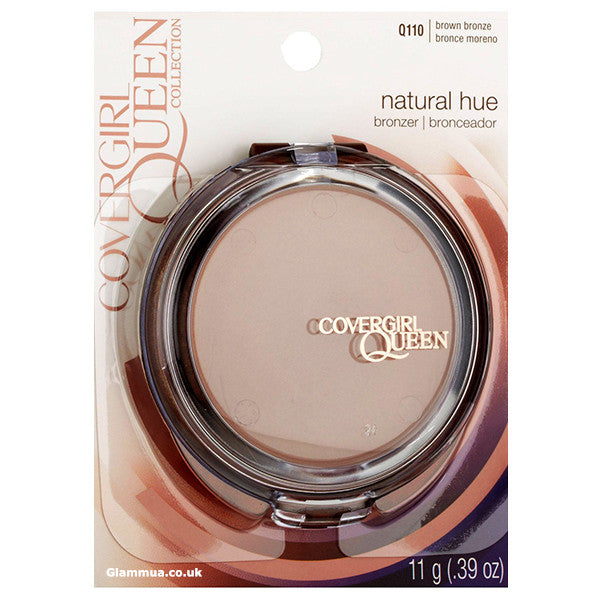 CoverGirl Queen Collection Natural Hue Mineral Bronzer Brown Bronze - Glammua