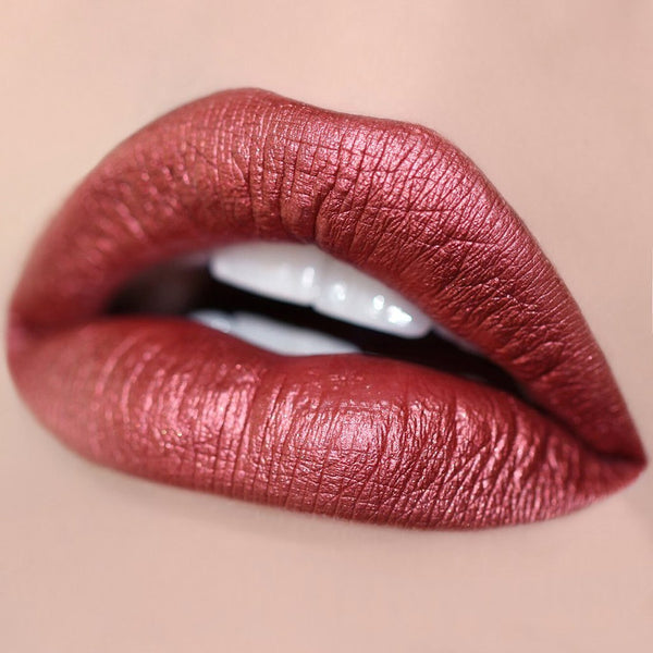 Girlactik Crimson Matte Lip Paint - Glammua