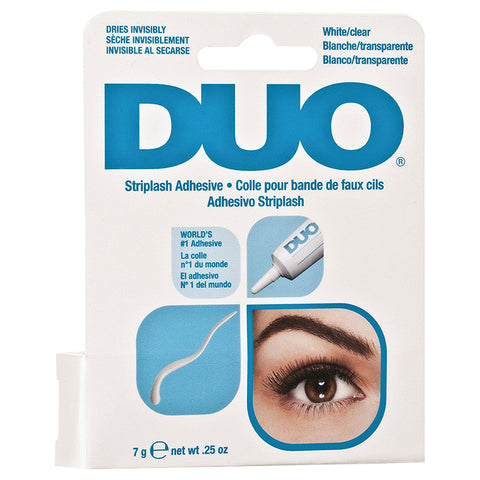 DUO Striplash Adhesive Clear 7g - Glammua