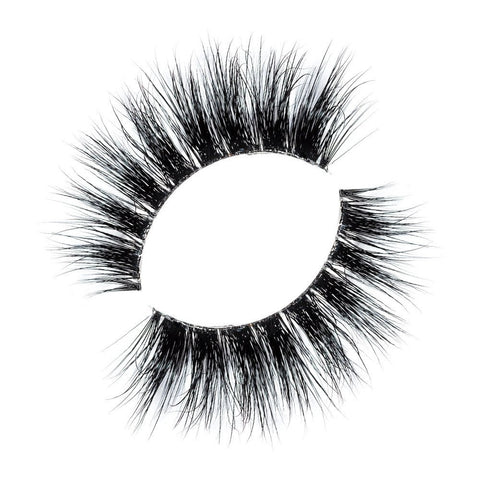 Lilly Lashes 3D Band-Less Mink Lashes Ela - Glammua