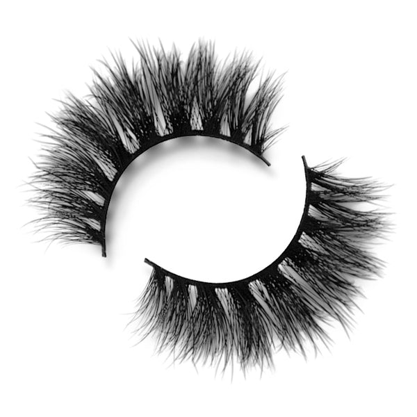Luxo Lashes Ultra Curl 3D Mink Lashes Ivy - Glammua