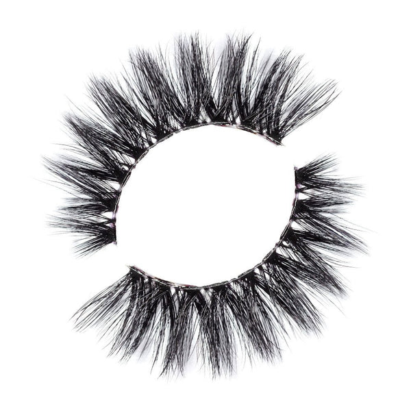 Lilly Lashes 3D Band-Less Faux Mink Lashes Layla - Glammua