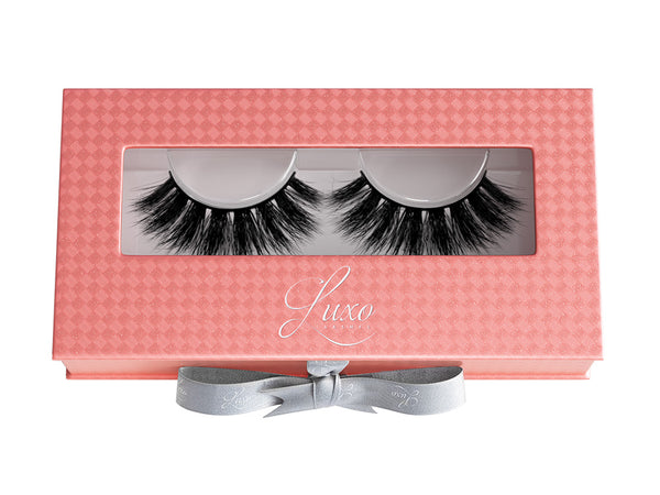 Luxo Lashes Ultra Curl 3D Mink Lashes Glam - Glammua