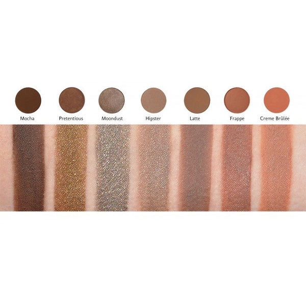 Makeup Geek Eyeshadow Pan - Mocha - Glammua