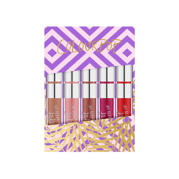 ColourPop Foxy Mini Kits Ultra Matte Lip - Glammua