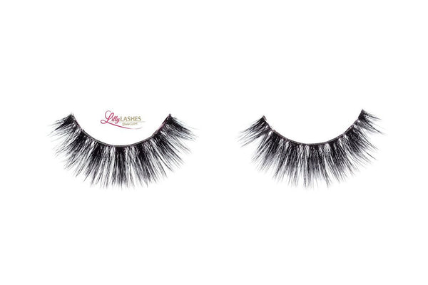 Lilly Lashes 3D Band-Less Faux Mink Lashes Olivia - Glammua