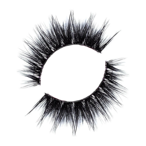 Lilly Lashes 3D Band-Less Faux Mink Lashes Roya - Glammua