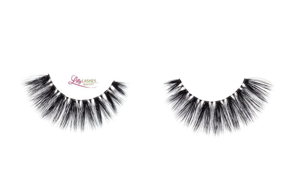 Lilly Lashes 3D Band-Less Faux Mink Lashes Sophia - Glammua