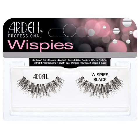 Ardell Invisiband Lashes Black - Wispies - Glammua